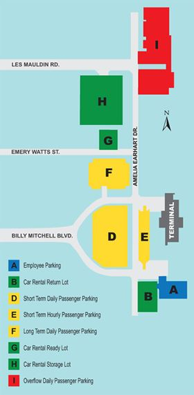 Brownsville Airport Parking